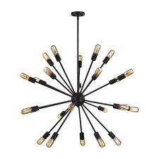 Kendall 24-Light Sputnik Chandelier