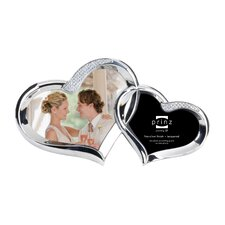 2 Opening 2 Hearts Metal Picture Frame