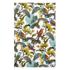 Tropical Birds Tea Towel