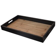 Hand-Crafted Wooden Tray