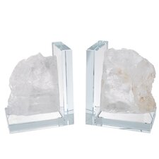 Hand-crafted Book Ends (Set of 2)
