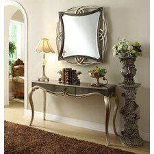 Console Table and Mirror Set (Set of 2)
