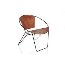 Leather Papasan Chair