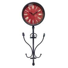 Smokey Cabin Metal Wall Clock