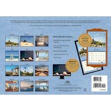 quick view seaside 2017 wall calendar