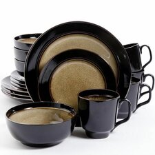 Gibson Elite 16 Piece Dinnerware Set, Service for 4