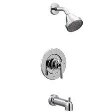 Gibson Pressure Balance Tub and Shower Faucet with Lever Handle