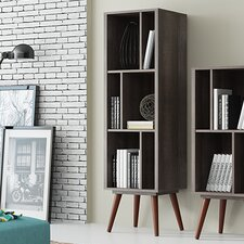 "Artesano  55.5"" Accent Shelves Bookcase"
