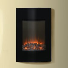 "Flamelux 35"" High Wall Mount Electric Fireplace"