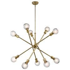 Pembroke Pines 10-Light Sputnik Chandelier