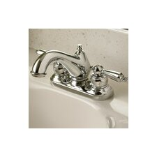 Allura Centerset Bathroom Faucet Double Handle with Drain Assembly