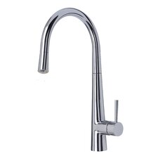 Palazzo Glo Single Handle Deck Mounted Kitchen Tap with LED Adaptor