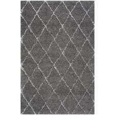 Armstead Grey/Ivory Geometric Contemporary Rug