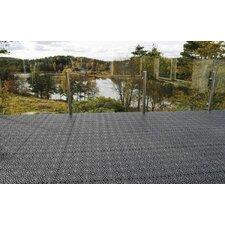"Bergo 14.88"" x 14.88"" Polypropylene Loose Lay/Snap in Tiles in Gray (Set of 14)"