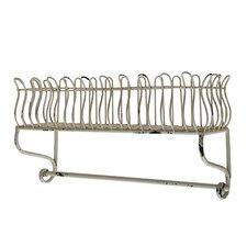 Wall Mounted Metal Shelf