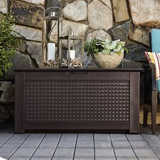 Patio Chic 93 Gallon Plastic Deck Box