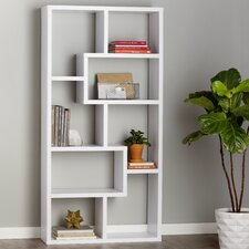 "71"" Accent Shelves Bookcase"