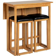 Atkinson 3 Piece Pub Table Set