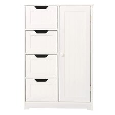 Chris 1 Door 4 Drawer Cabinet