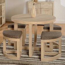 Essgruppe Wansley mit 4 Stühlen