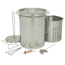 Stainless Steel 32 Qt. Turkey Fryer