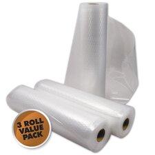 "8"" x 22' Vacuum Sealer Roll (Set of 3)"
