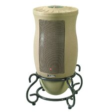 Designer Series 5,118 BTU Portable Electric Tower Heater with Remote Control