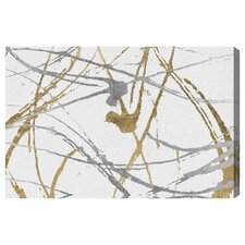 'Precious Metals' Graphic Art on Wrapped Canvas