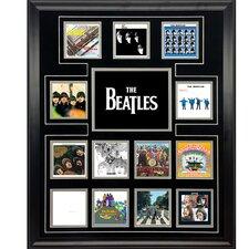 The Beatles 'UK Album Discography Collage' Framed Memorabilia