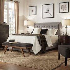 Woodside Upholstered Panel Bed