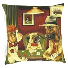 Sofakissen Dogs Playing Poker