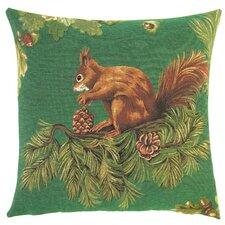 Sofakissen Squirrel with Pinecone