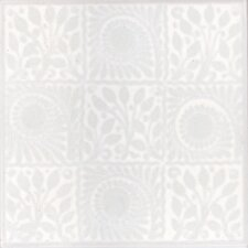 V&A 15.2cm x 15.2cm Ceramic Tile in White