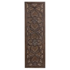 Wood Floral Wall Decor