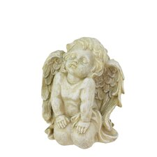 Heavenly Gardens Kneeling Cherub Angel Outdoor Patio Garden Statue