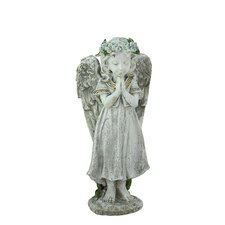 Heavenly Gardens Praying Angel Girl Outdoor Patio Garden Statue