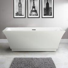 "Allegra 66.5"" x 31.5"" Soaking Bathtub"