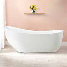 "Everlie 71"" x 35"" Soaking Bathtub"