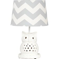 "Owl 8"" Table Lamp Base"
