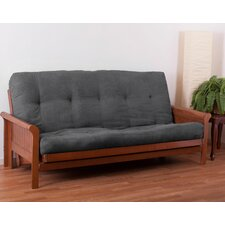 "8"" Innerspring/Coil Queen Futon Mattress"