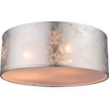 Amy I 3 Light Flush Ceiling Light