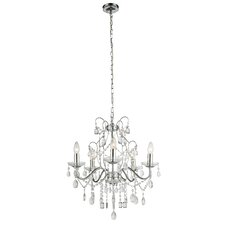 Campina 5 Light Candle Chandelier