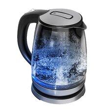 1,7 L Wasserkocher aus Edelstahl und Glas