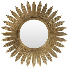 Aged Gold Wall Décor Wall Mirror