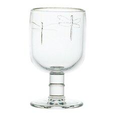 6-tlg. Rotweinglas-Set Libellule