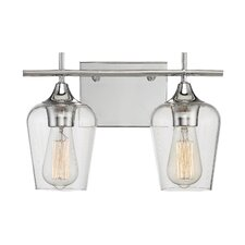 Staci 2-Light Vanity Light