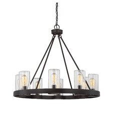 Mount Vernon 8-Light Outdoor Chandelier