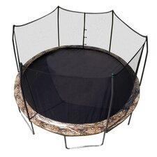 Camo 15' Round Trampoline and Enclosure