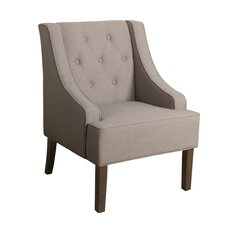Crandall Tufted Swoop Armchair