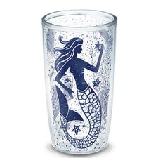 Sun and Surf Vintage Mermaid Tumbler